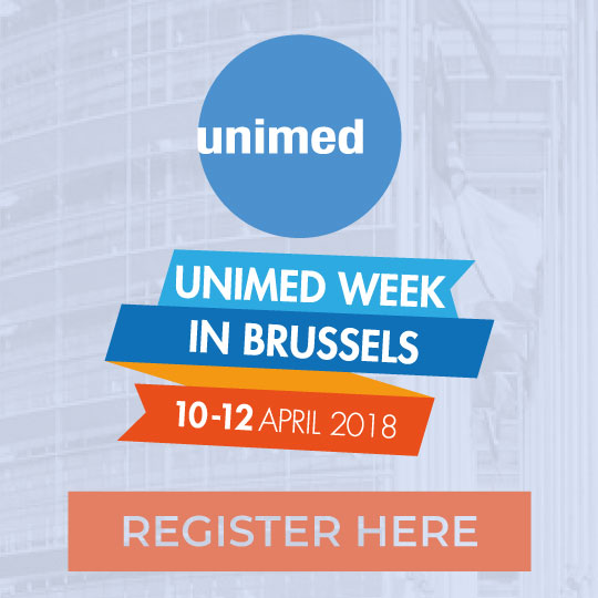 Banner UNIMED Week in Brussels