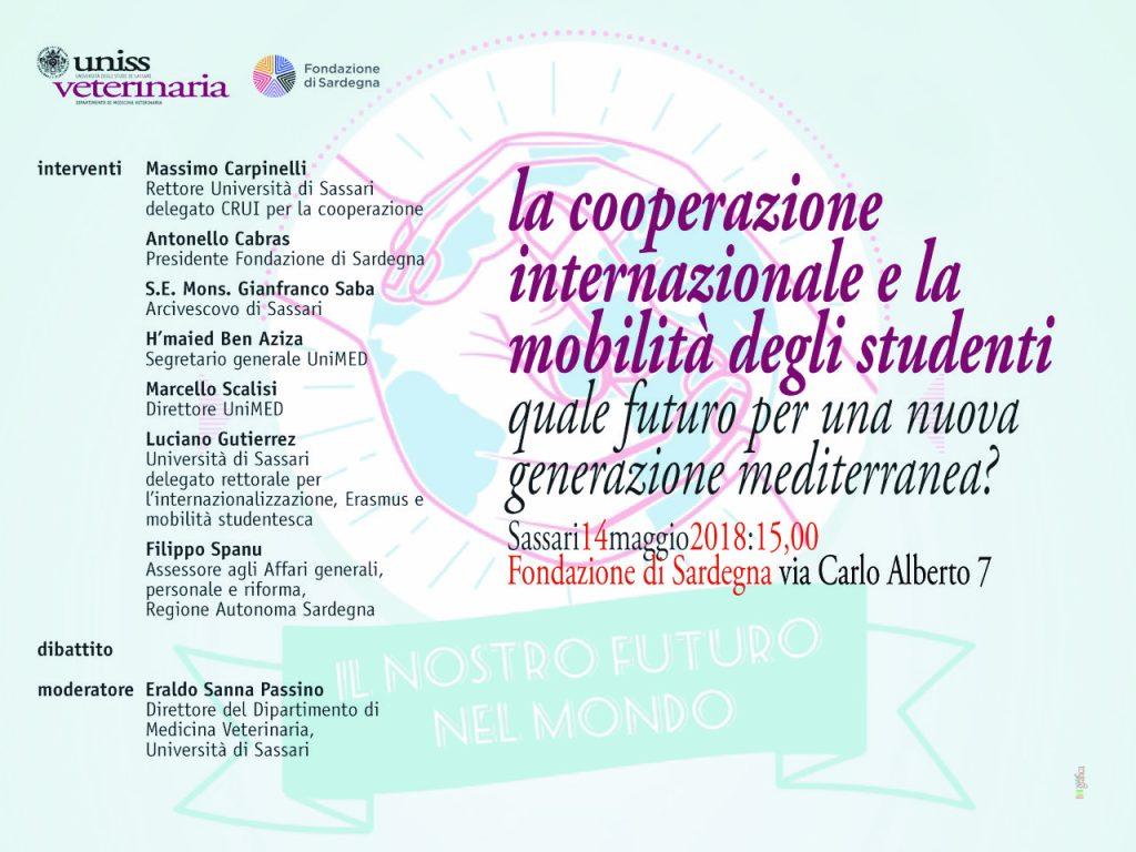 Locandina Seminario Cooperazione, 2018