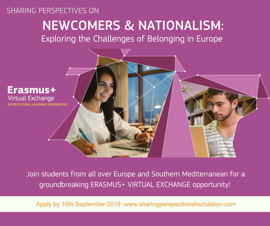 Newcomers & Nationalism 2018 - visual flyer