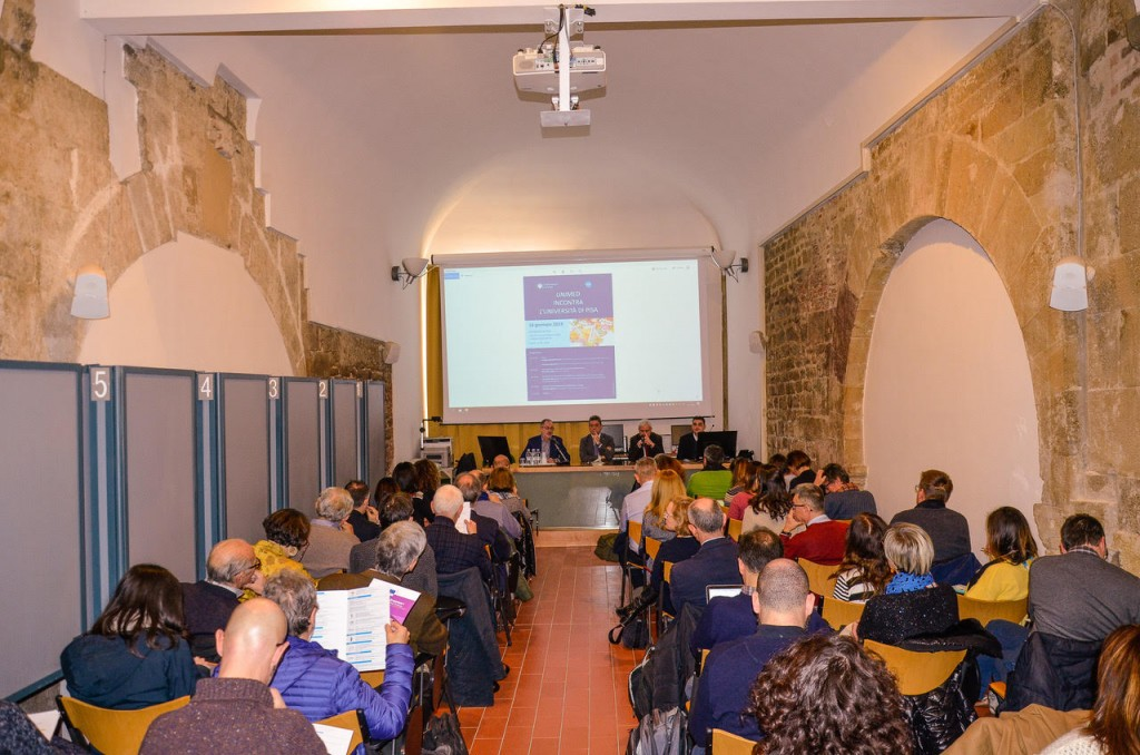UNIMED si presenta all'Università di Pisa