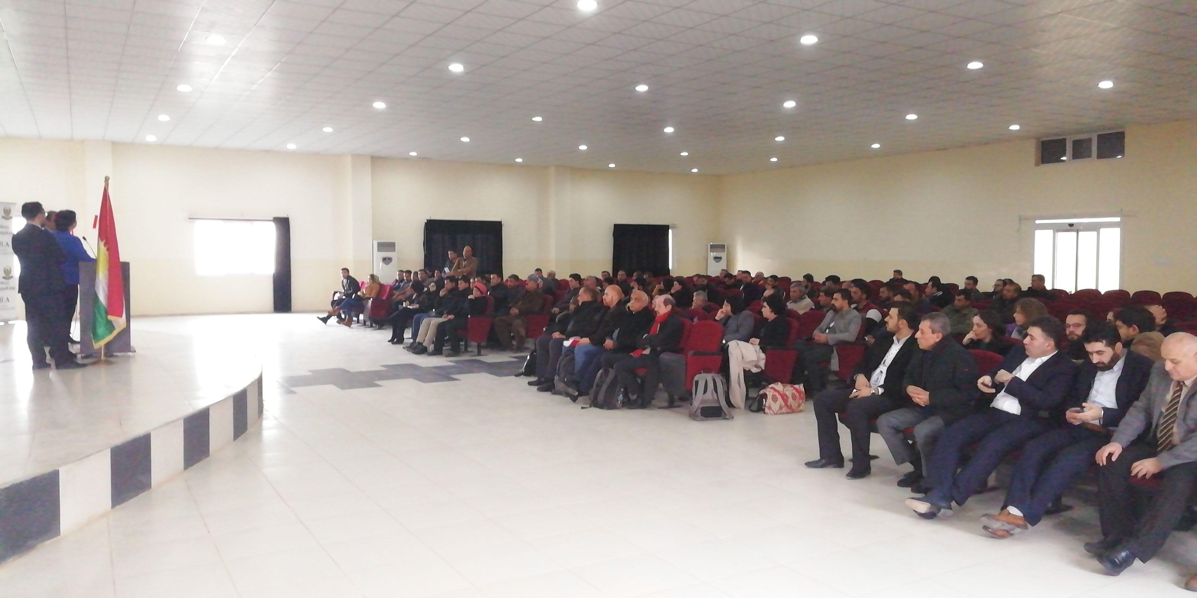 Domiz 1 Refugees Camp session- R-SOS Units opening // Duhok (Iraq) - 15 January 2019R-
