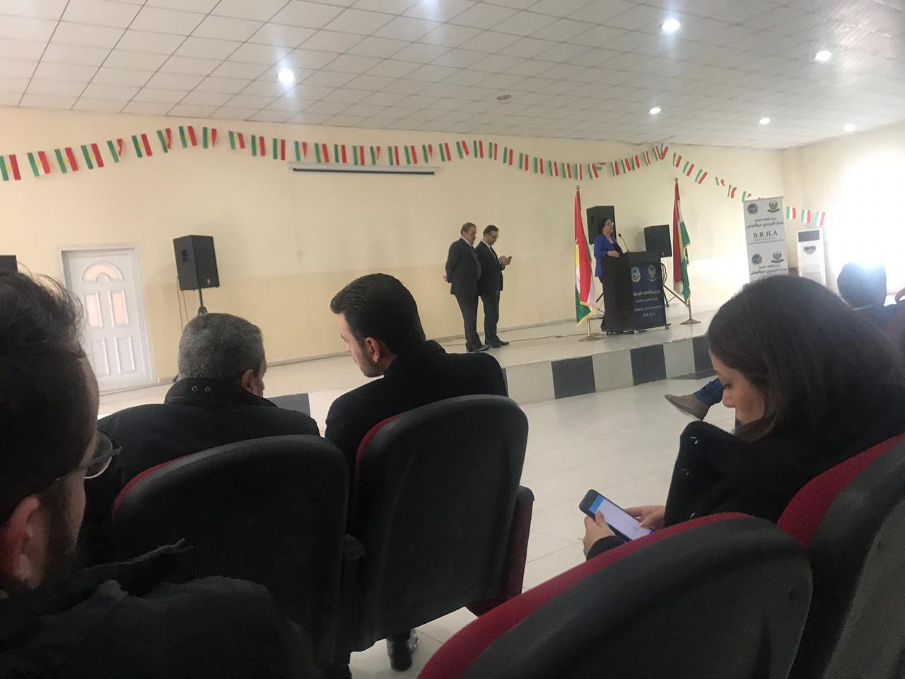 Domiz 1 Refugees Camp session- R-SOS Units opening // Duhok (Iraq) - 15 January 2019