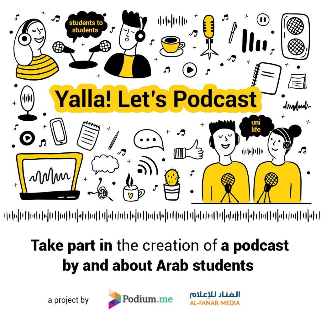 Yalla! Let's podcast
